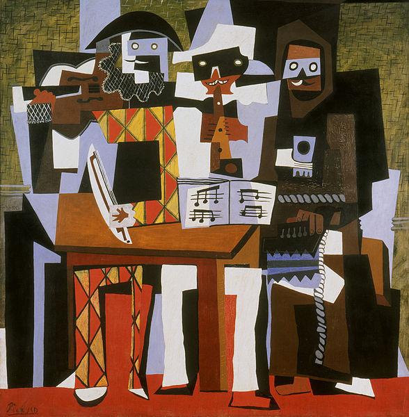 588px-Pablo_Picasso_1921_Nous_autres_musiciens_Three_Musicians_oil_on_canvas_204.5_x_188.3_cm_Philadelphia_Museum_of_Art.jpg