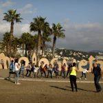 SPAIN-WEATHERREUTERS-Jon-Nazca-la-malagueta-beach