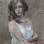 np-sous-le-chene-2014-75x40cm-detail-buste1
