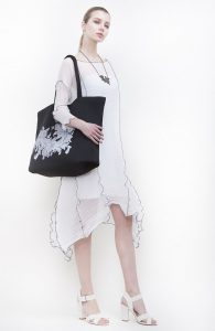 Thetis dress & Horizontal bag