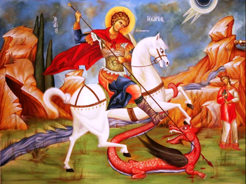 Στρατιωτικοί Άγιοι – Άγιος Γεώργιος ο Μεγαλομάρτυρας και Τροπαιοφόρος, του  Αντγου (εα) Θεόκλητου Ρουσάκη - iporta.gr